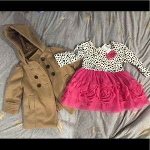 Toddler Coat and Dress